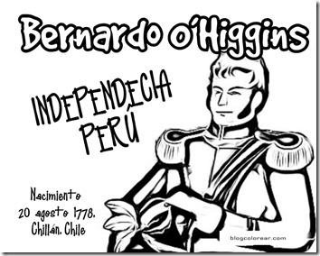 Bernardo O'Higgins 4INDEPENDENCIA PERU