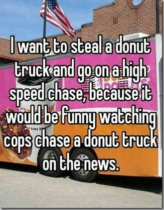 steal donut truck