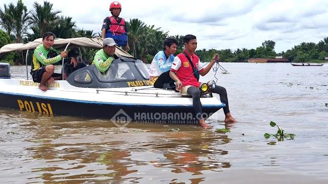 Kakek Darman Dikabarkan Tenggelam Di Sungai Desa Marampiau Tapin