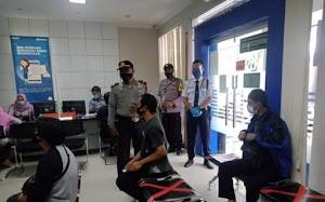 Polsek Panyingkiran Gelar Operasi Yustisi di Kantor Bank BRI Unit
