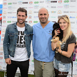 WWW.ENTSIMAGES.COM -   Matt Johnson, Marc Abraham (TV Veterinary Business Development and Coaching Consultant) and Ashley James    at        Pup Aid at Primrose Hill, London September 6th 2014Puppy Parade and fun dog show to raise awareness of the UK's cruel puppy farming trade. Pup Aid, the anti-puppy farming campaign started by TV Vet Marc Abraham, are calling on all animal lovers to contact their MP to support the debate on the sale of puppies and kittens in pet shops. Puppies & Celebrities Return To Fun Dog Show Fighting Cruel Puppy Farming Industry.                                              Photo Mobis Photos/OIC 0203 174 1069