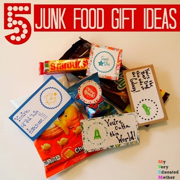 Junk Food Sayings for Quick Gift Ideas