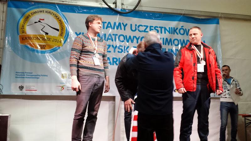 Andrzej Krygowski zloty medal w Nordic Walking