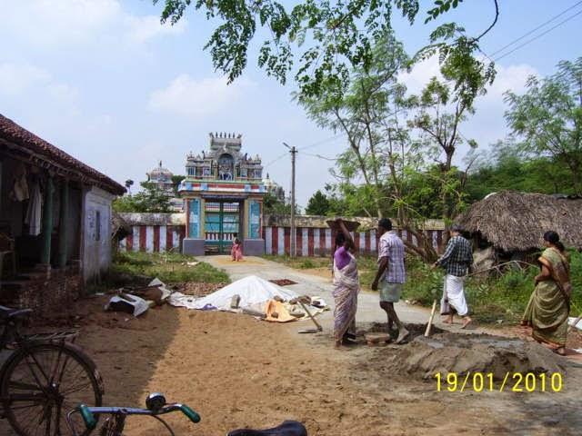 Sri Vijaya Natheswarar Temple, Thiruvijayamangai, Papanasam - 275 Shiva Temples