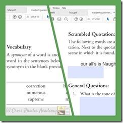 Vocab. & Gen. Questions