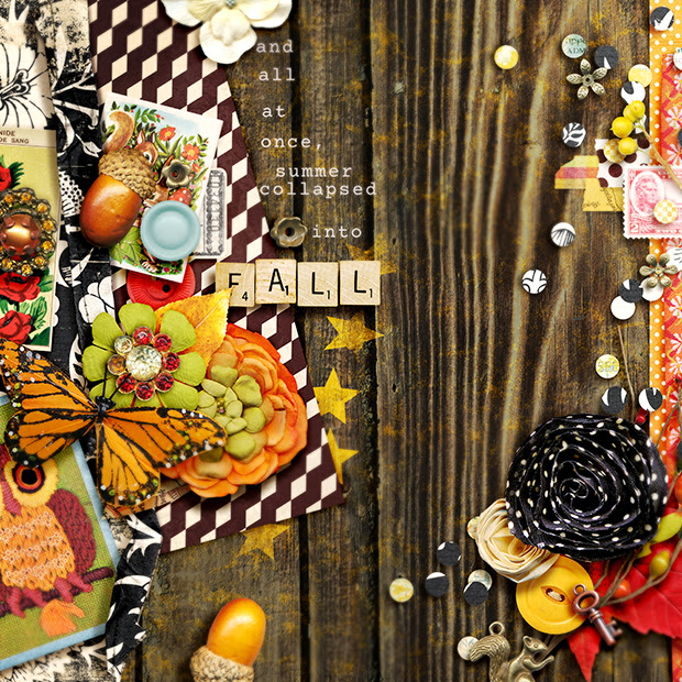 Fall // 12x12 // Splendiferous by Jenn Barrette + Studio Basic