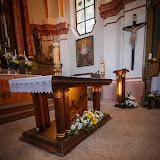 Skleněný oltář a ambon na Vavřinečku (foto: Bohumil Vopat)