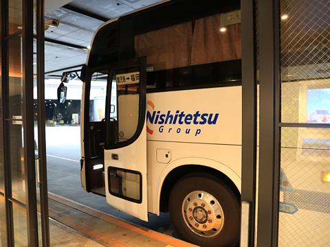 西鉄高速バス「桜島号」夜行便 4012 西鉄天神高速バスターミナル到着 その2