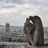 Notre Dame--Atop