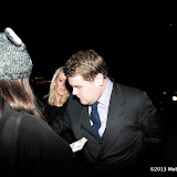 WWW.ENTSIMAGES.COM -  James Corden   arriving at    The Charles Finch & Chanel Pre-BAFTA Dinner at Annabel's in Berkeley Square London February 9th 2013                                                      Photo Mobis Photos/OIC 0203 174 1069