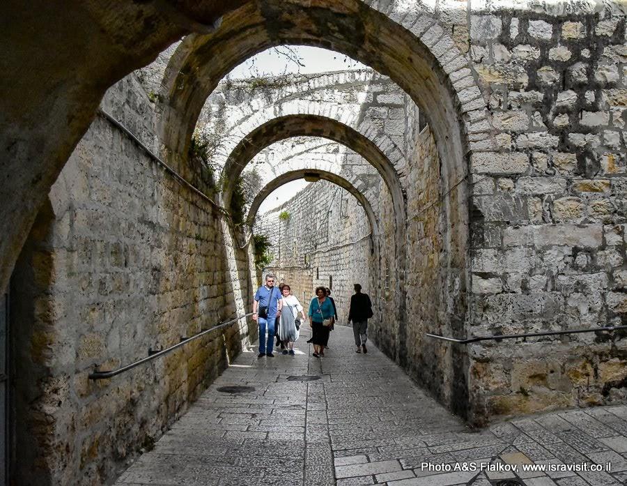 Иерусалим. Старый город. Армянский квартал. Индивидуальная экскурсия по Иерусалиму с частным гидом. Гид Светлана Фиалкова.