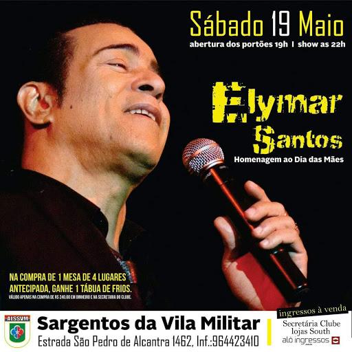 Elynar Santos, realiza show em homenagem ao Dia das Mães