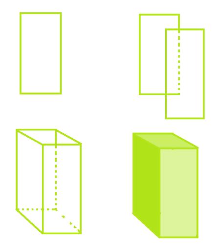 Prisma o prisma triangular 7 o prisma cuadrangular 8 o prisma pentagonal 9 o prisma hexagonal 10. Como Dibujar Un Prisma Cuadrangular Facil Paso A Paso