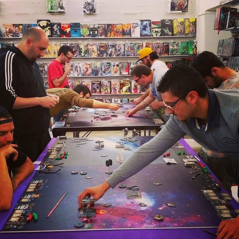 Stellapiloti in azione durante lo Star Wars Day 2015