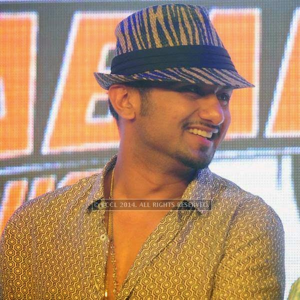 Yo Yo Honey Singh during the launch of World Kabaddi League, held at Le Meridian, New Delhi, on July 24, 2014.