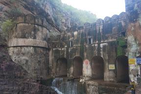 Muralla en el interior del parque Ranthambore