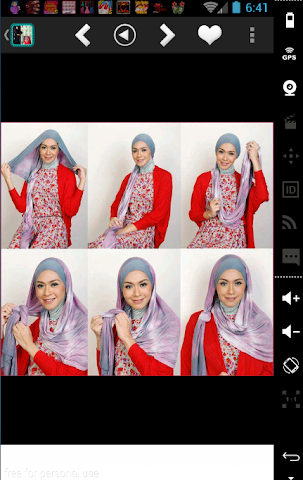 android Mode Hijab 2016 et tutoriels Screenshot 0