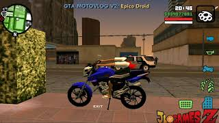 SAIUU! NOVO GTA BRASIL V2  ESTILO MOTOVLOG PARA CELULARES ANDROID (APK + DATA) SUPER LITE + DOWNLOAD