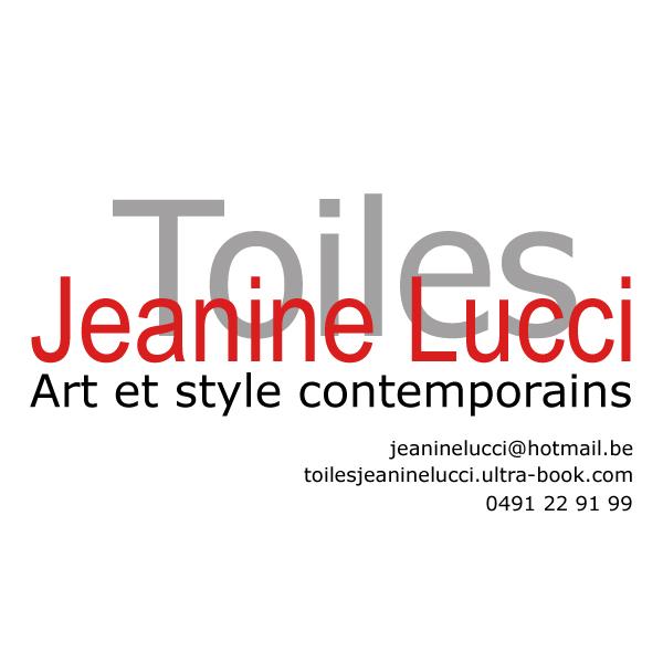♥PUB : Jeanine Lucci TOILES Artiste peintre contemporain