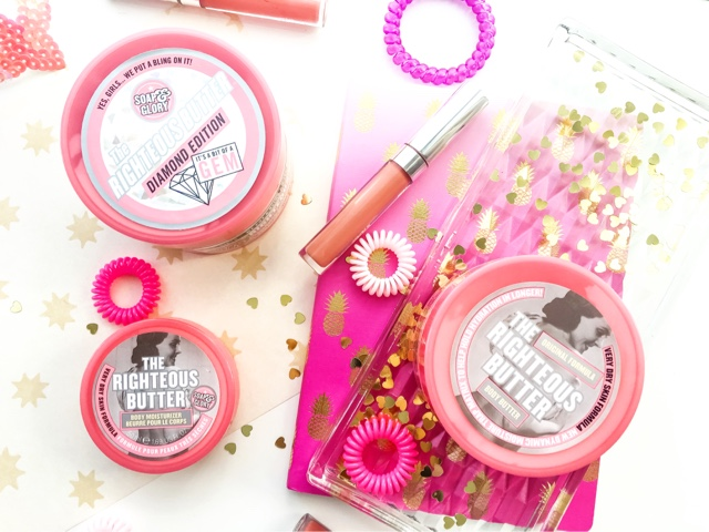 review of the best soap and glory body products, the righteous butter review