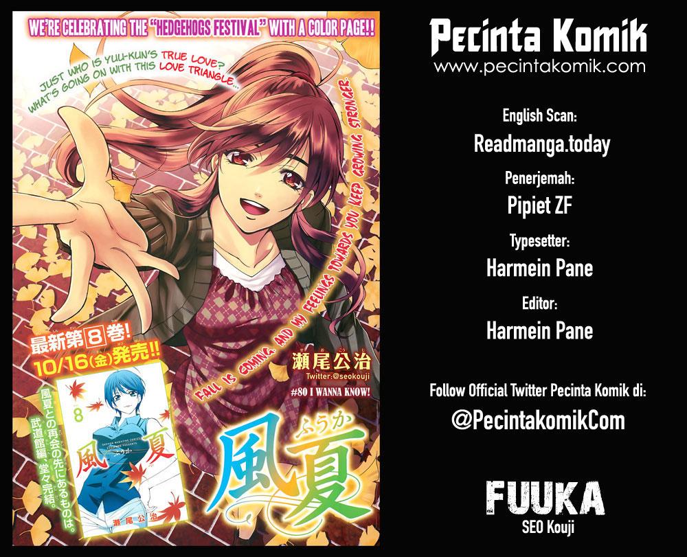 Fuuka Chapter 90-1