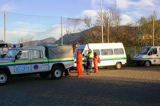 Esercitazione di Protezione Civile  - Como/Monte Olimpino 27/03/2010