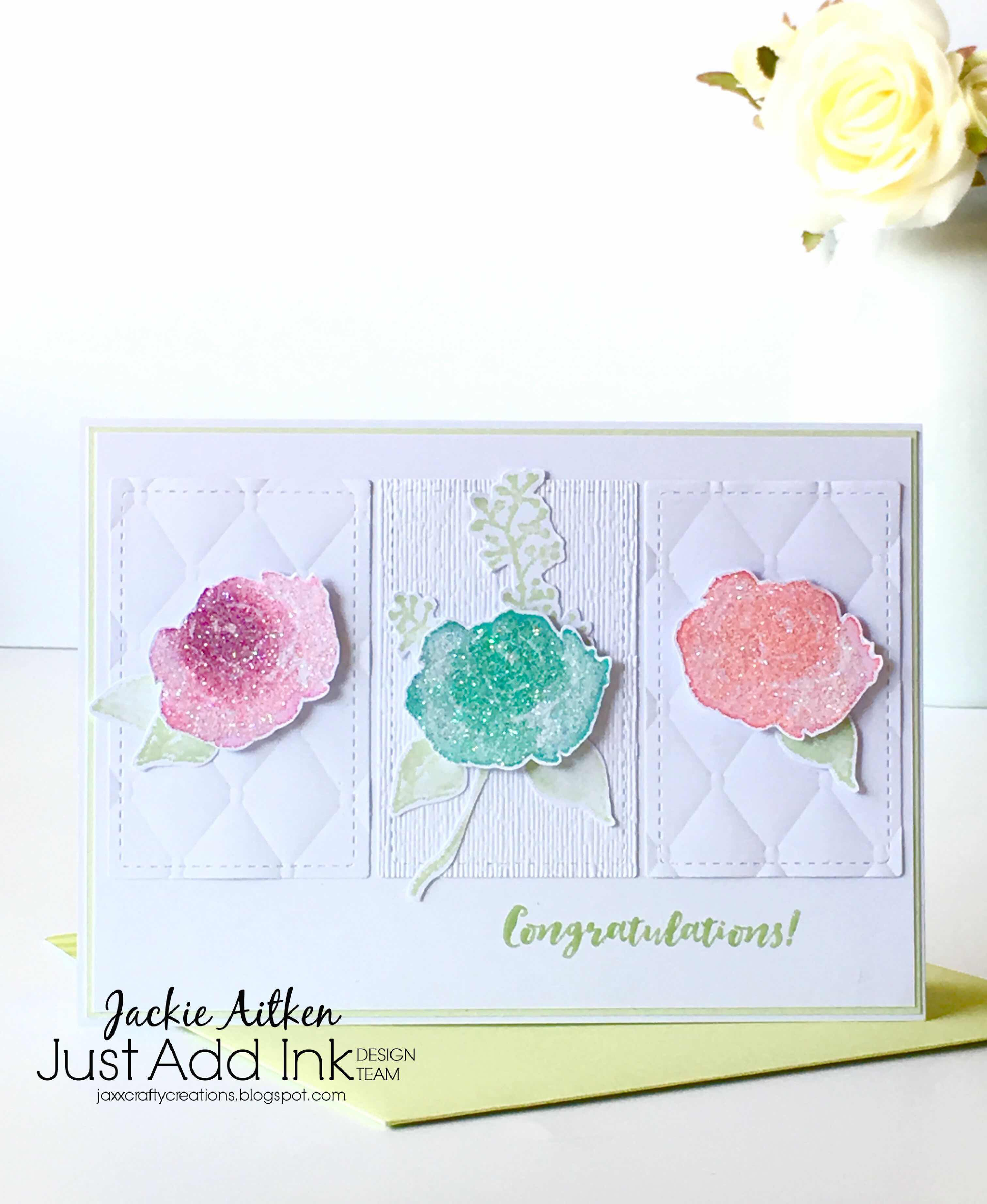 jaxxcraftycreations, first frost stampin up cards, subtle embossing folder, tufted embossing folder