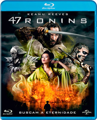 Filme Poster 47 Ronins BDRip XviD Dual Audio & RMVB Dublado