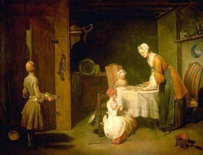 Un visitante en el Prado: Chardin (antiguo post) Pintura.aut