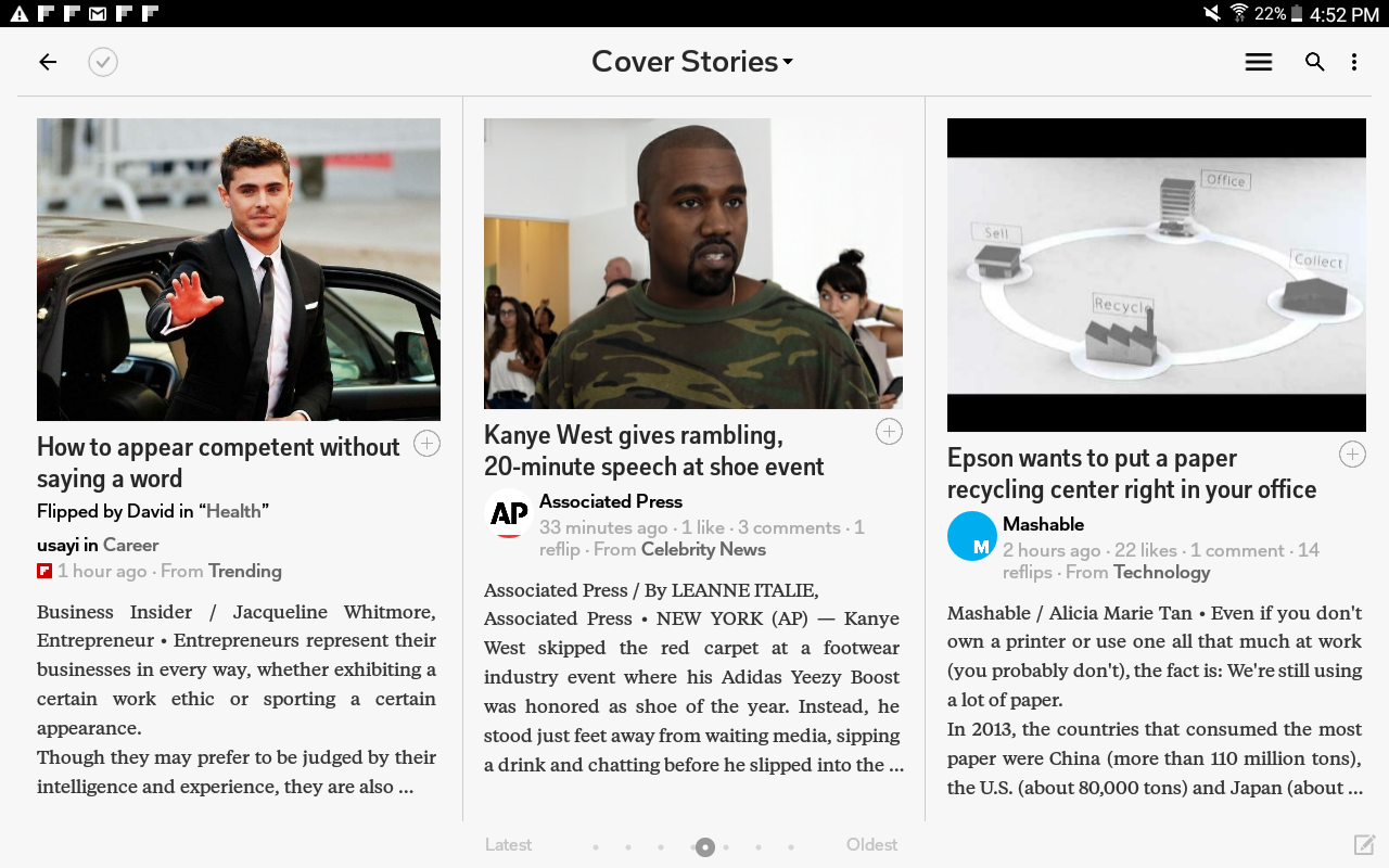 Flipboard: Your News Magazine screenshot #13