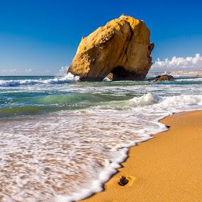 Penedo do Guincho by Paulo Mendonça - Landscapes Beaches