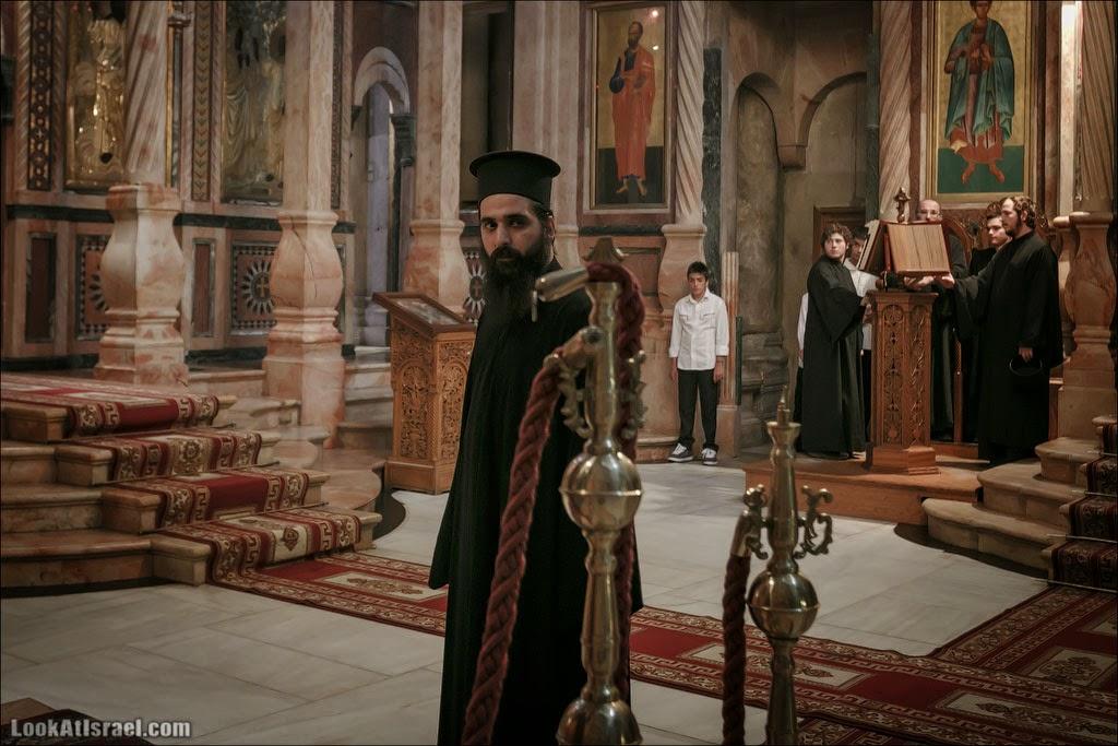 Литургия в храме Гроба Господня | LookAtIsrael.com - Фотографии Израиля и не только...