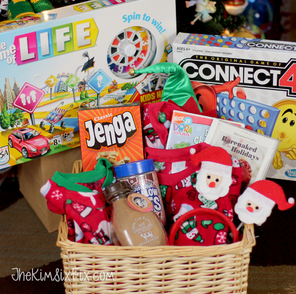 christmas eve basket ideas