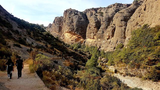 #Arnes #terra alta#tolls#excursions amb nens #estrets