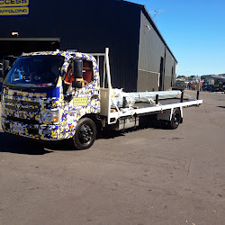 Newly Skinned Access Truck