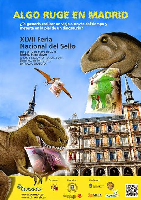 47ª Feria Nacional del Sello, en la Plaza Mayor