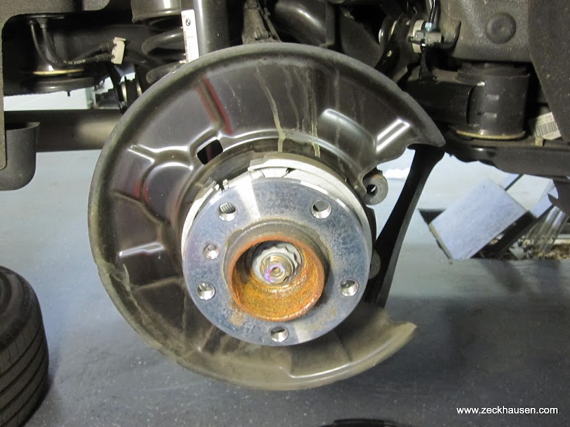 how to change rear brake rotary on 05f150