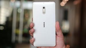 Nokia 6 màu bạc vừa mới ra mắt