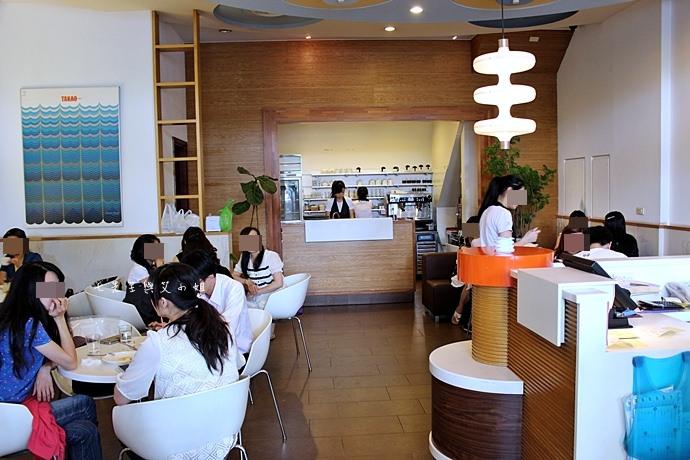 2 台南 深藍咖啡館 千層蛋糕