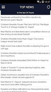 Cristiano Ronaldo News - náhled