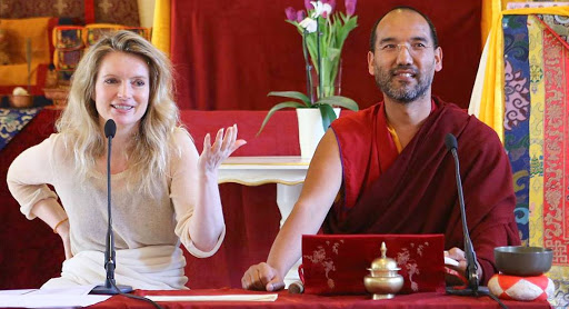 Lama Tenzin and Heidi Koppl