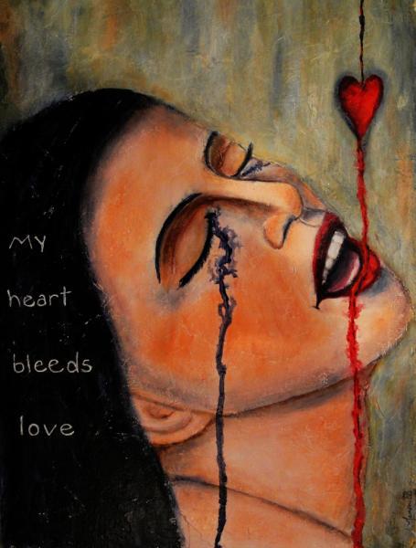 My Heart Bleeds Love, Bloody