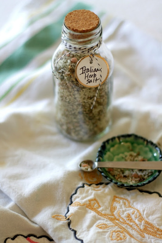 Italian Herb Salt Tuscany Salt