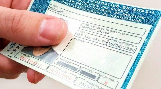 Grátis: DETRAN libera mais de 4 mil carteiras gratuitas; veja como se inscrever