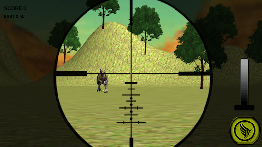 Dino Hunting Jurassic Sniper3D screenshot 5