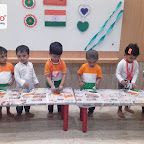 Independence Day Celebration by Playgroup Evening Section at Witty World, Chikoowadi (2018-19)