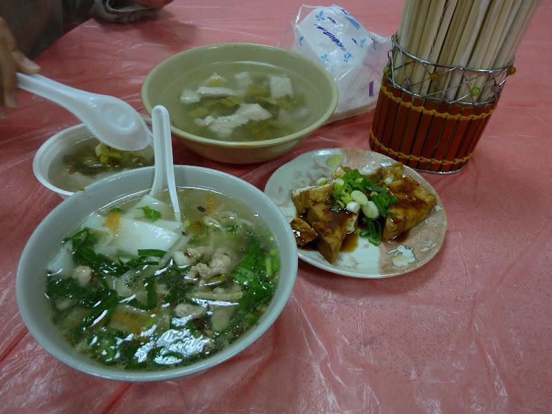 Environs de Taufen. Cuisine Hakka