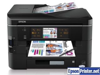 How to reset Epson BX925 by software