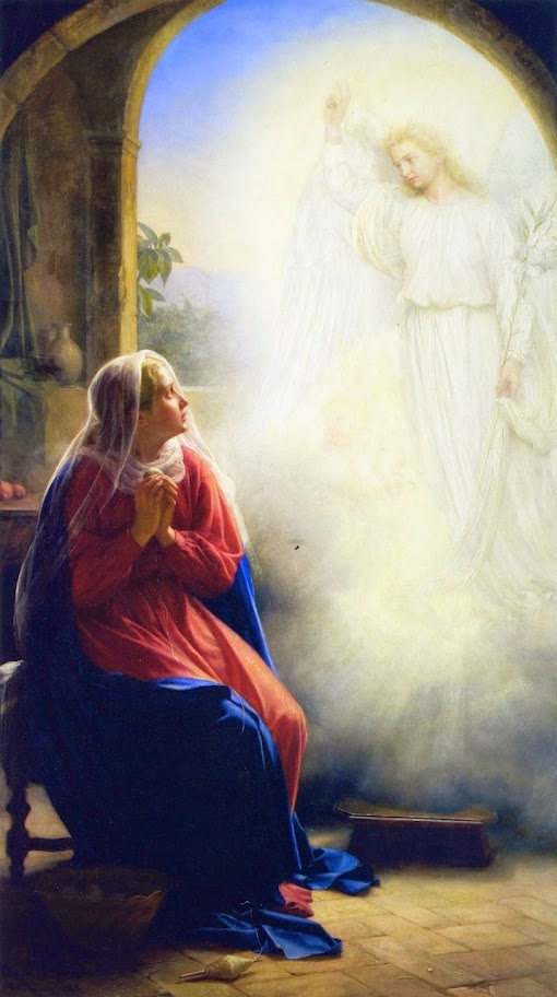 Carl Bloch - The Annunciation