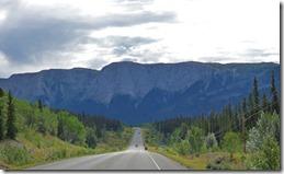 Mountains east of Marsh Lake, Yukon Territory